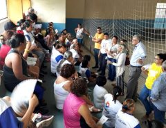 Informe Publicitário: Prefeito prestigia grupo de mulheres do CRAS em Mangabeira