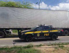 Semirreboque adulterado é apreendido pela PRF em Macaíba/RN