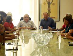 Governo recebe direção do Sinte-RN e comissão de greve