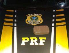PRF apreende droga e prende dois homens com crack na BR 101