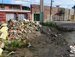 Macaíba: SEMURB intensifica fiscalização de descarte irregular de resíduos sólidos