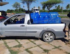 PRF retém veículo com carga excessiva na BR 304 em Macaíba