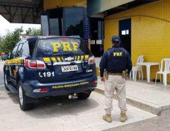 Procurado da Justiça por tráfico de drogas é preso pela PRF em Goianinha/RN