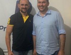 Denilson Gadelha solicita verba federal para Macaíba, através do deputado Beto Rosado