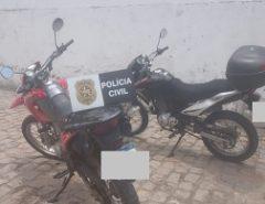 Policiais civis da Delegacia de Macaíba prendem suspeitas de receptação e crime ambiental