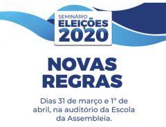Escola da Assembleia realiza Seminário Eleições 2020