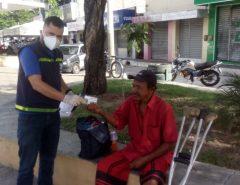 SEMTAS de Macaíba presta auxílio à população de rua em tempos de pandemia