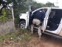 PRF recupera em Parnamirim caminhonete roubada em Canguaretama/RN