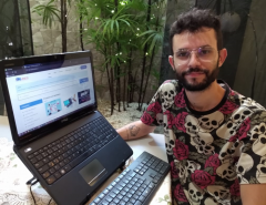 Aluno de Contábeis desenvolve plataforma para ajudar pequenos negócios