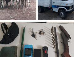 PM prende quadrilha de ladrões de gado no município de Nova Cruz/RN