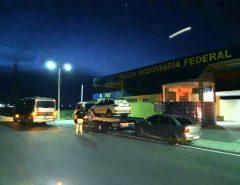 PRF detém motoristas de ônibus intermunicipais por descumprir determinação legal