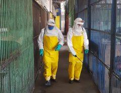 Ceasa-RN realiza desinfecção e limpeza dos mercados e áreas externas