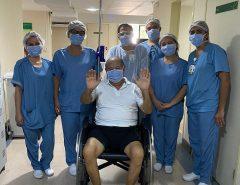 'Uma vitória', diz idoso que passou 14 dias entubado e se recuperou da Covid-19 no RN