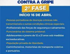 Informe Publicitário: Segunda fase da campanha contra a gripe Influenza começa nesta quinta-feira (16) em Macaíba