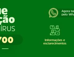 Central Disque Prevenção ao Coronavírus passa a atender também pelo Whatsapp