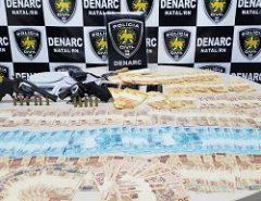 Polícia Civil prende suspeitos de posse ilegal de arma de fogo e dinheiro falso