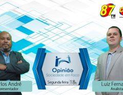 Programa Opinião Sociedade em Foco segue rodada de sabatinas e debates com os pré-candidatos ao Legislativo de Macaíba