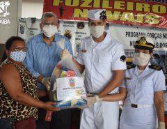 Informe Publicitário: Alunos do PROFESP de Macaíba são contemplados com cestas básicas