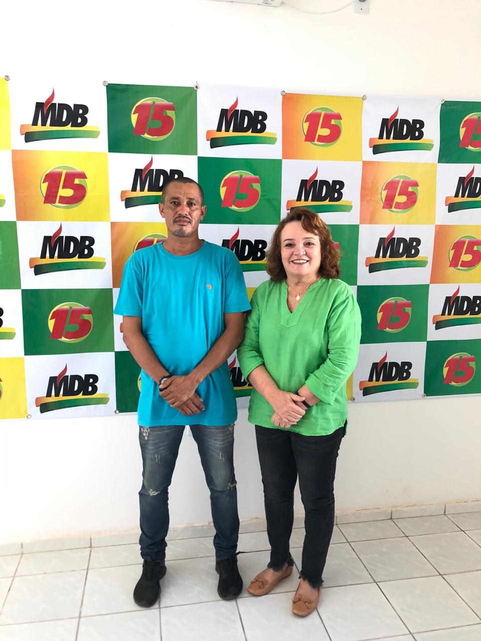 Carlinhos do Frete anuncia pré-candidatura a vereador pelo MDB e apoio a Marília Dias