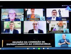 Deputados da Comissão do Coronavírus recebem apelo de representantes da economia para reabertura gradual do comércio