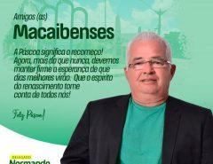 Mensagem de Páscoa do delegado Normando Feitosa