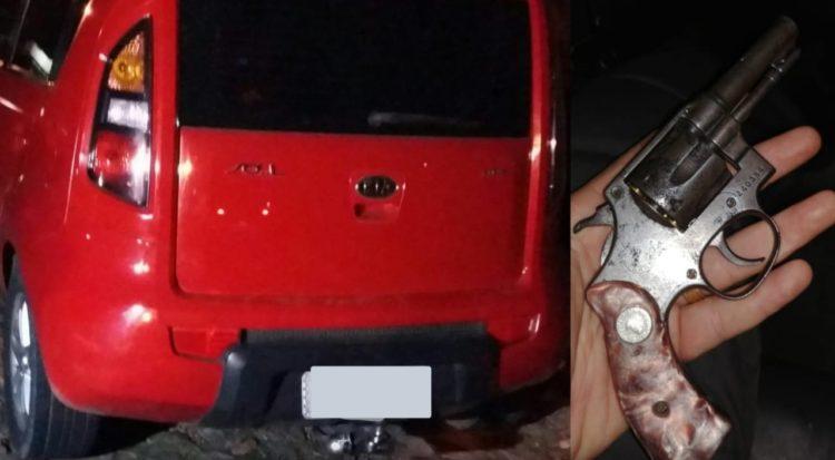 PM resgata refém, recupera veículo roubado e prende assaltantes em Parnamirim