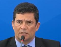 """Bolsonaro me prometeu carta branca"", lembra Moro, em coletiva"