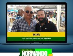 Mimi mototáxi é pré-candidato a vereador pelo PSC Macaíba