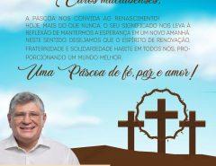 Mensagem de Páscoa do prefeito Fernando Cunha aos macaibenses