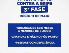 Informe Publicitário: Terceira fase da campanha contra a gripe começa em Macaíba