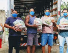 Ação solidária da EAJ ajuda agricultores de Macaíba e comunidade carente de Natal