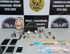Polícia Civil prende, em Extremoz, suspeitos de roubos com atuação interestadual