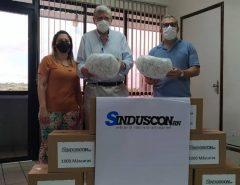 Informe Publicitário: Prefeitura recebe doação de 10 mil máscaras