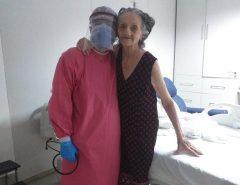 Idosa de 82 anos hipertensa se recupera do coronavírus após 14 dias internada em Mossoró