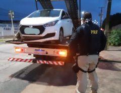 PRF prende em São Gonçalo do Amarante/RN dois assaltantes e recupera veículo roubado