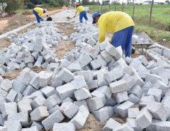 Informe Publicitário: Lagoa do Lima recebe obra de pavimentação