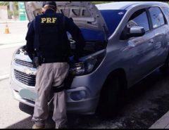 Veículo roubado em Recife/PE é recuperado na BR 101 em São José de Mipibu/RN