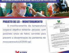 Deputado kleber Rodrigues pede obrigatoriedade do monitoramento corporal