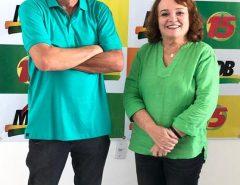 O suplente de vereador e presidente do Conselho comunitário do bairro Pé do Galo, declara apoio à ex-prefeita Marília Dias