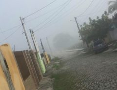 [FOTOS] Nevoeiro em Macaíba chama atenção de moradores