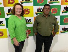 Irmão Marquinhos do Gás, que é suplente de vereador, declara apoio à Marília Dias
