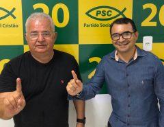 Delegado Normando Feitosa recebe mais um importante apoio à sua pré-campanha