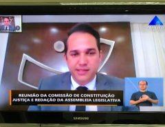 CCJ da Assembleia se reúne em mais uma reunião por videoconferência