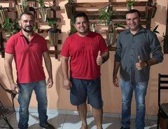 Emídio Júnior e Denilson Gadelha recebem apoio de desportista
