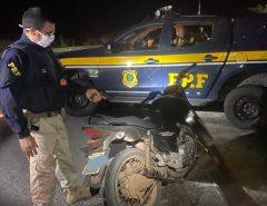 Duas motocicletas são recuperadas em um espaço de duas horas na região da Grande Natal; uma delas em Macaíba