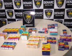 Polícia Civil prende suspeito de venda irregular de medicamentos em Natal