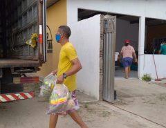 Feira Solidária arrecada 10 toneladas de alimentos em 3 edições