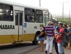 Com transporte alternativo lotado, greve dos rodoviários chega ao 3º dia sem data para retomar atividades em Natal