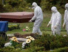 Brasil registra recorde de 1.262 mortes em 24h; casos de coronavírus são 555.383