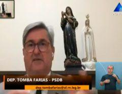 Tomba Farias defende criação de CPI para investigar compra de respiradores